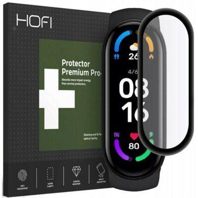 HOFI Szkło hybrydowe HOFI Hybrid Glass do Xiaomi Mi Band 6 Czarny