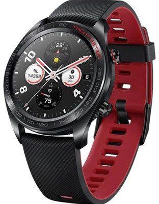 Honor Watch Magic Czarno-czerwony