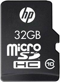 HP microSDHC 32GB Class 10 + Adapter (SDU32GBHC10HP-EF)