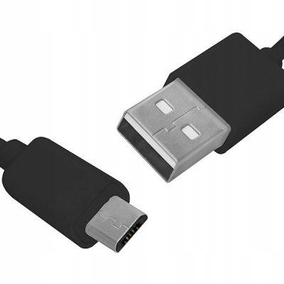 HQ Ps Kabel USB-micro Usb 1m czarny