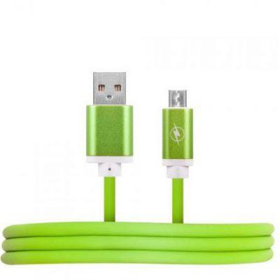 HQCable USB-MICRO USB 1M zielony