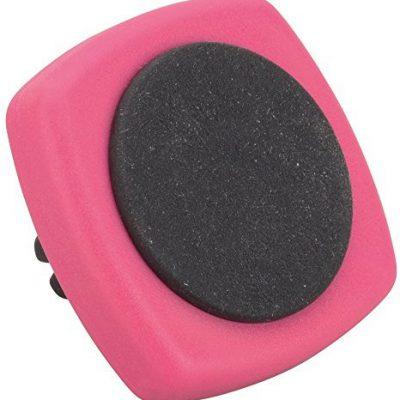HR GRIP GRIP Magnet-Tec uchwyt na smartfon do wentylacji (różowy) [do wszystkich smartfonów, fabletów | Made in Germany | wyściełany] - 22112219 221 122 11