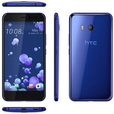 HTC U11 64GB Dual Sim Niebieski