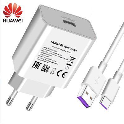 Huawei Oryginalna szybka ładowarka 4.5V 5A do P20 Pro P20 Lite Mate 10 Mate 20 Pro 5A typ
