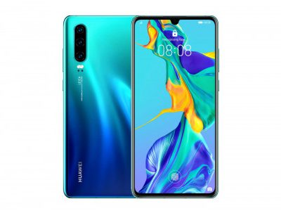 Huawei P30 128GB Dual Sim Aurora niebieski