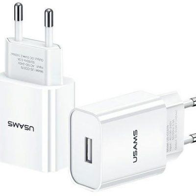 Huawei Usams Ładowarka Usb 2.1A Fc do Xioami Oppo