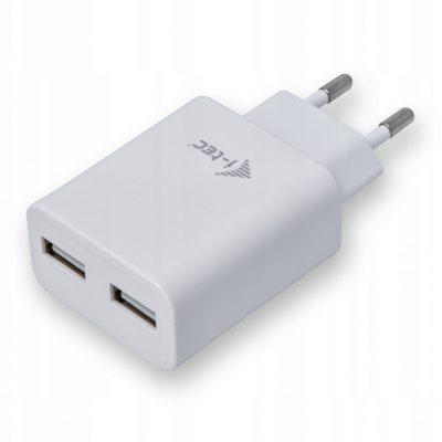 i-tec Dual Usb Power Charger Eu 2X Usb 3.0 2.4A