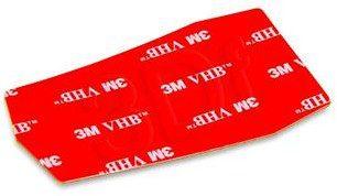 iBox UCHWYT SAMOCHODOWY I-BOX H4 ALLIGATOR BLACK/RED AKIBGSU00050