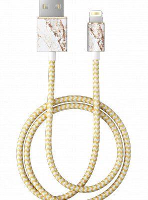 IDEAL IDEAL USB-Lightning Fashion 1 m Carrara Gold)