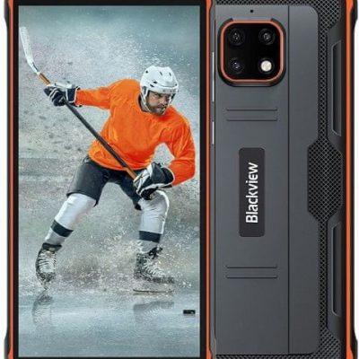 iGET Blackview GBV4900 32GB Dual Sim Czarno-pomarańczowy