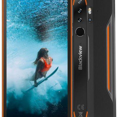 iGET Blackview GBV6300 Pro 128GB Dual Sim Czarno-pomarańczowy