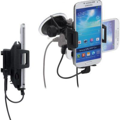iGrip iGrip Universal Charging Dock - Uniwersalny uchwyt do smartfonów o szer. 44 - 84 mm + ładowarka + kabel micro USB + kabel Lightning T5-1238