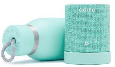 IHOME iHome iBTB2QQ Bezprzewodowy głośnik Bluetooth z butelką termiczną trzymającą niską temperaturę, kolor turkusowy