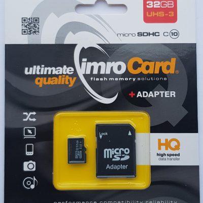 IMRO Imro 32GB (MicroSD10/32G UHS-3 ADP)