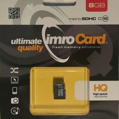 IMRO SDHC Class 10 8GB + adapter (KOM000654)