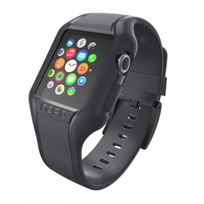 Incipio NGP Strap - Elastyczny Pasek do Apple Watch 38mm (przydymiony) WBND-008-