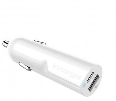 Innergie Ładowarka samochodowa 30W USB-C 3.A USB 2.4A