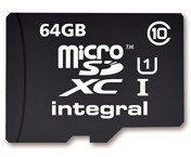 Integral MicroSDXC 64GB UHS-I  (T_0014201)