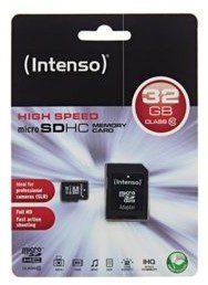 Intenso MicroSDHC Class 10 32GB (3413480)