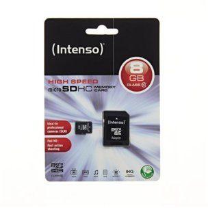 Intenso MicroSDHC Class 10 8GB (3413460)