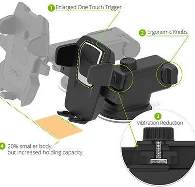 iOTTIE Uchwyt samochodowy Easy One Touch 3 Mount uniwersalny na telefon HLCRIO120