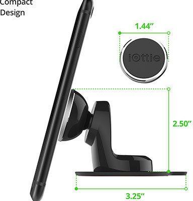 iOTTIE Uchwyt Samochodowy iTap Magnetic Dashboard Mount HLCRIO153
