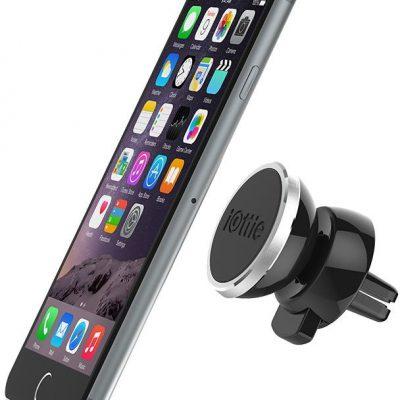 iOTTIE uchwyt samochodowy iTap Magnetic do kratki czarny do HUAWEI Honor 6C Pro