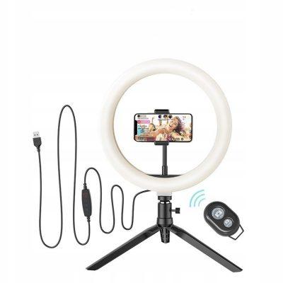 iPhone 5 BlitzWolf BW-SL3 Lampa Ring Selfie do Se