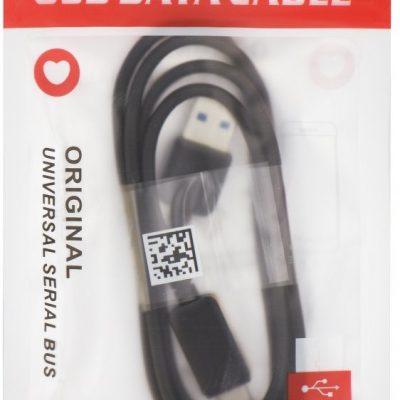 . Kabel USB Typ C 30 czarny [Class II] towar w magazynie natychmiastowa wysyłka FV 23% odbiór osobisty 0 zł 5901737852601