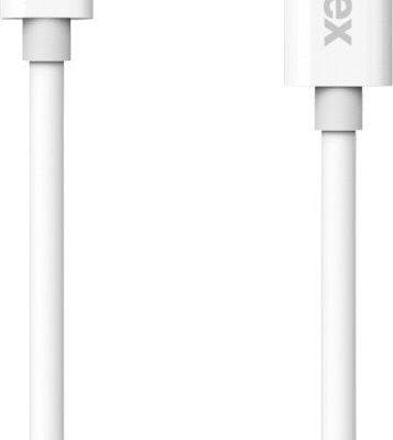 Kanex Kabel USB USB C na microUSB1.2 m Biały KUCMB111M