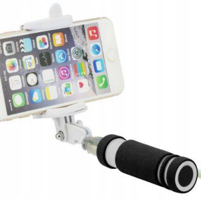 Kij Uchwyt Selfie Stick Do Telefonu Kolor Czarny