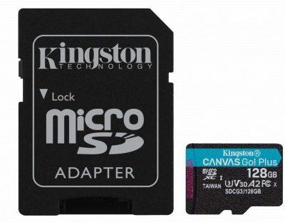 Kingston Canvas Go! Plus 128GB (SDCG3/128GB)