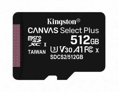 Kingston Canvas Select Plus 512GB (SDCS2/512GB)