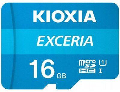 KIOXIA Exceria microSDHC 16GB (LMEX1L016GG2)