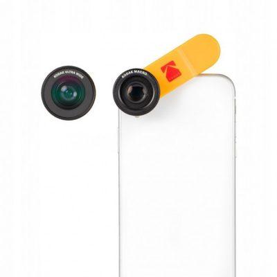 Kodak Lens Kit 2w1 MAKRO + WIDE 18mm zestaw obiektywów do smartfona SB5389