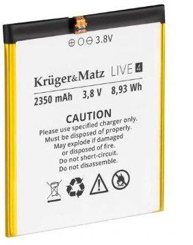 Kruger Matz Bateria Kruger&Matz Kruger&Matz Live 4/4S KM00438