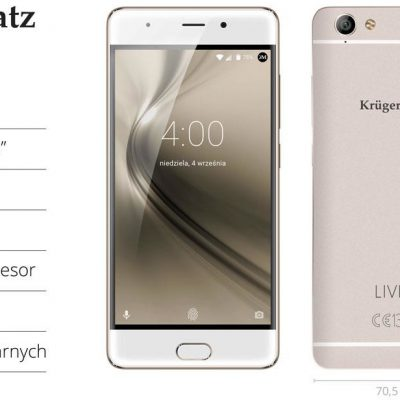 Kruger&Matz LIVE 4S 32GB Dual Sim Złoty