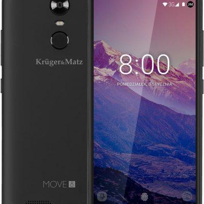Kruger&Matz Move 8 8GB Dual Sim Czarny matowy