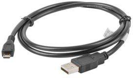 LANBERG LANBERG Kabel USB 2.0 micro AM-MBM5P 1M czarny (CA-USBM-10CC-0010-BK)