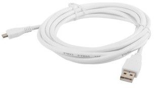 LANBERG LANBERG Kabel USB 2.0 micro AM-MBM5P 3M biały (CA-USBM-10CC-0030-W)