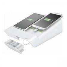 Leitz Complete ESSELTE Ładowarka do 2 smartfonów biała ES1088-10