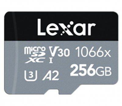 Lexar 256GB microSDXC High-Performance 1066x A2 V30 U3 (LMS1066256G-BNANG)