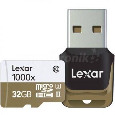 Lexar microSDHC 32GB  (LSDMI32GCBEU1000R)
