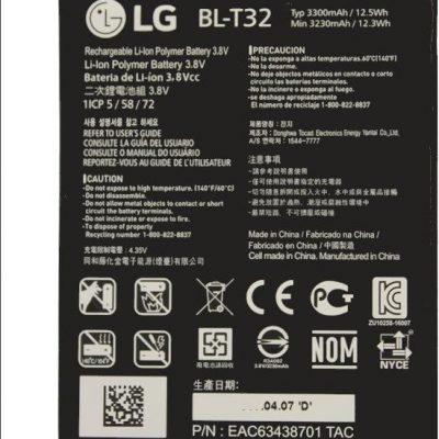 LG G6 H870 BL-T32 3300mAh 12.5Wh Li-Polymer 3.8V oryginalny) BL-T32