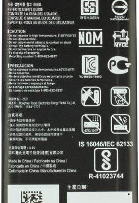 LG K220 X POWER BL-T24 4100mAh 15.8Wh Li-Polymer 3.85V oryginalny) BL-T24