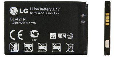 LG Optimus Me / BL-42FN 1250mAh 4.6Wh Li-Ion 3.7V (oryginalny)