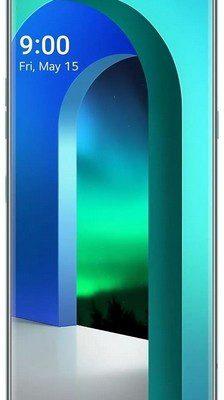 LG Velvet 128GB 5G Zielony