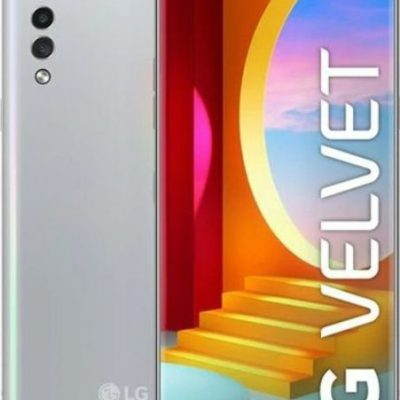 LG Velvet 128GB Dual Sim Srebrny