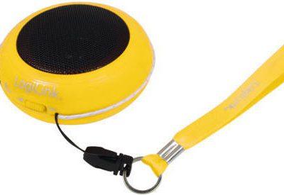 LOGILINK Przenośny głośnik do Mp3/telefonu - żółty [ID0017