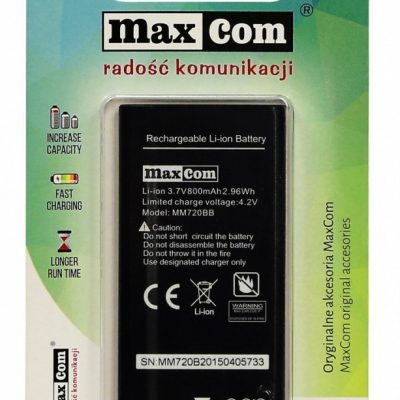 Maxcom Bateria AKUMULATOR LI-ION MM720 - AKUMULATORMM720 - AKUMULATORMAXCO